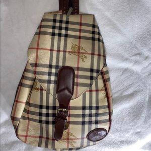 VTG Burberry backpack